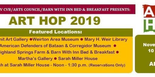 Art Hop - Weirton and Wellsburg - November 2019