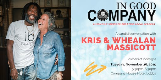 In Good Company with Whealan and Kris Massicott - November 2019
