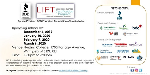 LIFT Business Ethics Certification Program