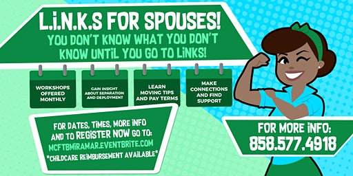 L.I.N.K.S. For Spouses- Saturdays 2020