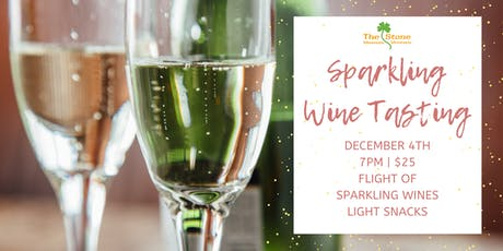 Sparkling Wine Tasting at The Stone tickets