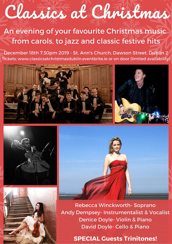 Classics at Christmas- a night of Classical, Jazz and Christmas Favourites image