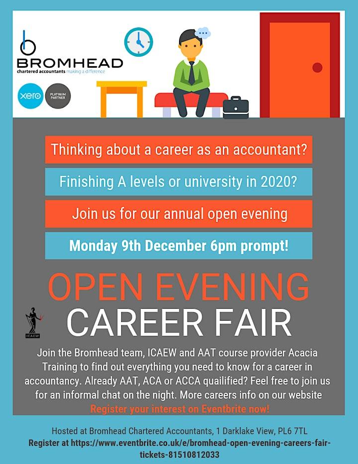 Bromhead Open Evening / Careers Fair image