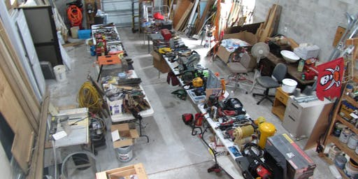 Gigantic Estate Sale - Builders Dream - Supplies, Tools, Collectibles .....