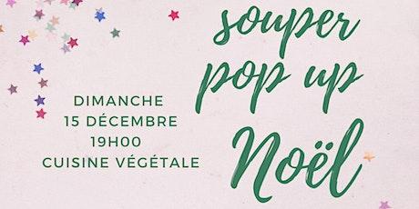 souper pop up de Noël  billets