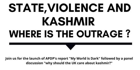 State, Violence and Kashmir: Where is the Outrage? tickets