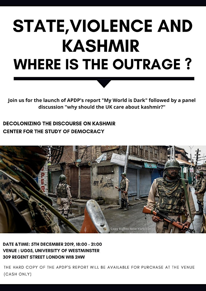 State, Violence and Kashmir: Where is the Outrage? image