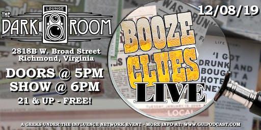 Booze Clues Podcast Live: Xmas Spirits Edition!