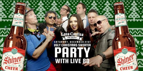 Ugly Christmas Sweater Party with Live 80! tickets