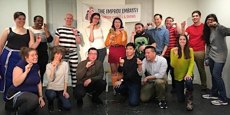 Improv Embassy class shows (Jan 9 - PWYC) tickets