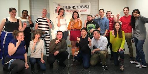 Improv Embassy class shows (Jan 9 - PWYC)