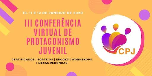 III Conferência Virtual de Protagonismo Juvenil