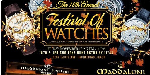 18th Annual Festival of Watches