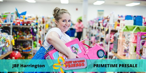 Primetime Presale Pass| March 5th | JBF Harrington Spring 2020 | Mega Children's Sale event