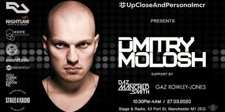Upcloseandpersonalmcr with Dmitry Molosh tickets