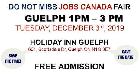Guelph Job Fair – December 3rd, 2019 tickets