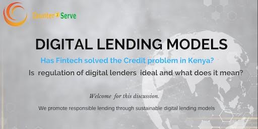 Digital Lending; How to lend responsibly using Fintech.