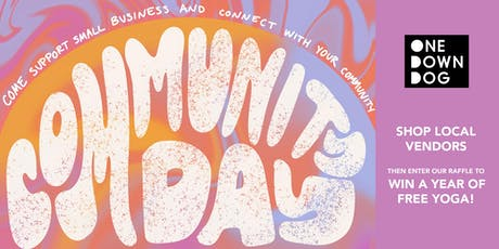 Community Shop Day | One Down Dog in Echo Park tickets