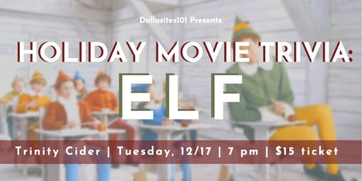 Holiday Movie Trivia: Elf