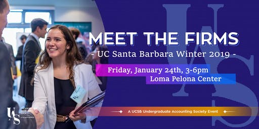 UCSB Summer Leadership Program Meet the Firms 2020 - Firm Registration