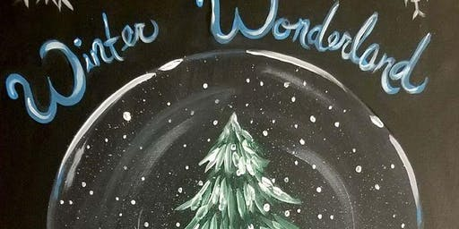 Snow Globe Painting at Parrot's