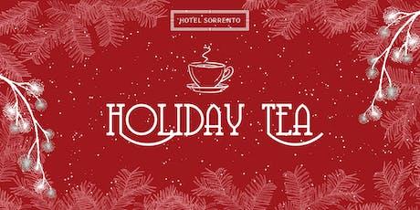 Holiday Tea tickets