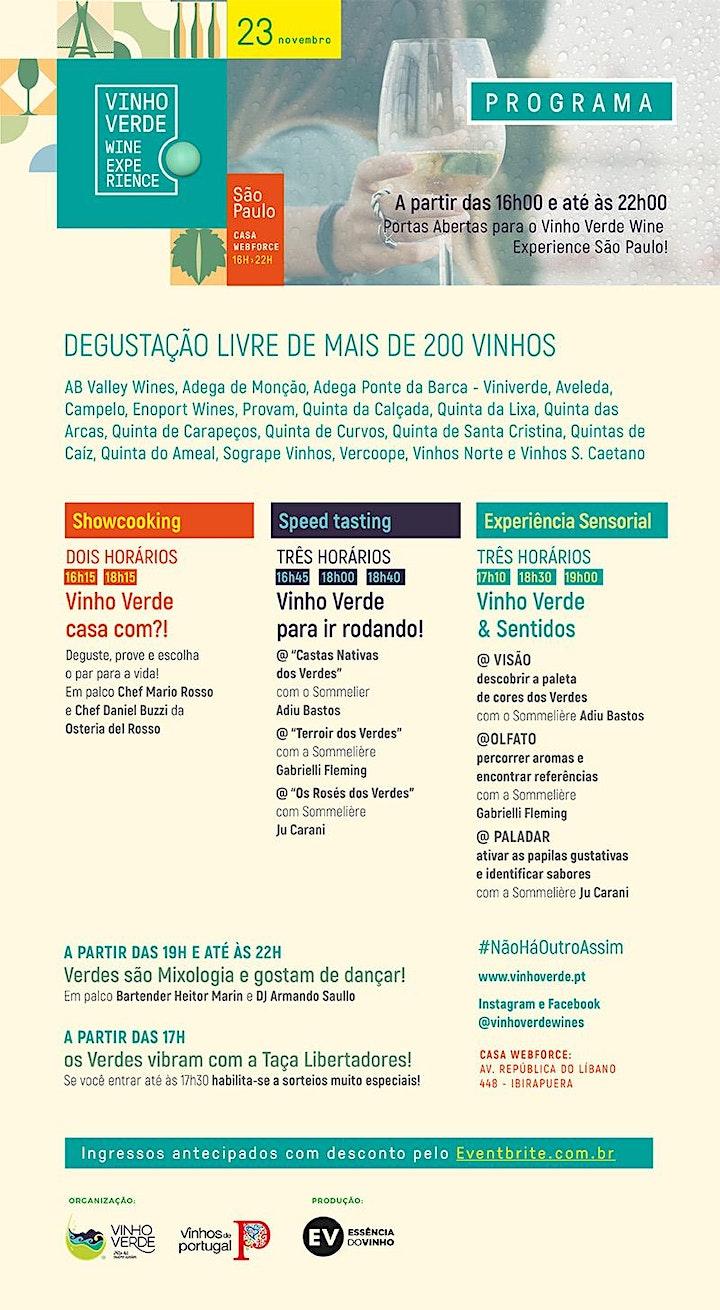 Imagem do evento Vinho Verde Wine Experience São Paulo