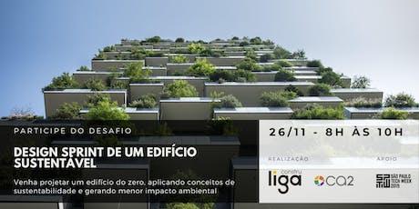 Design Sprint de um edifício sustentável ingressos