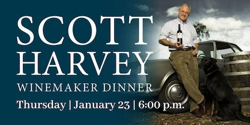 Scott Harvey Winemaker Dinner| Culinary Dinner Theater