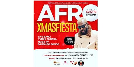 AFRO XMAS FIESTA Tickets