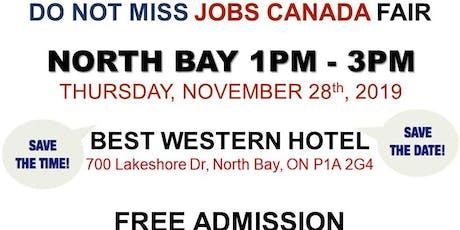 North Bay Job Fair – November 28th, 2019 tickets