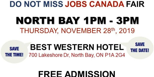 North Bay Job Fair – November 28th, 2019