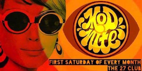 Mod Nite: 1960's Soul Dance Party! tickets