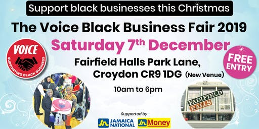 The Voice Black Business Fair 2019