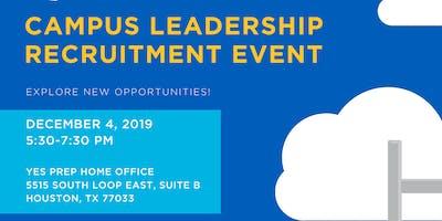 Campus Leadership Recruitment
