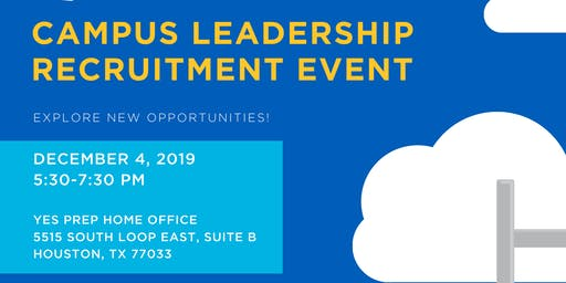 Campus Leadership Recruitment