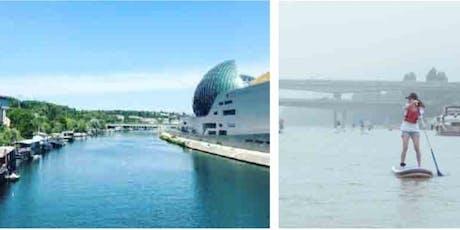 Happy Seine Paddle Tour : découvrez le paddle sur la Seine LE 12 MAI 2020 16H/18H billets