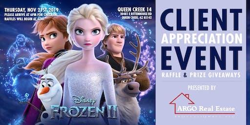 ARGO Client Movie Night - Frozen II