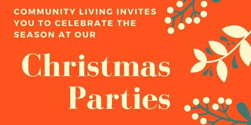 Community Living Christmas Party - Friday Event