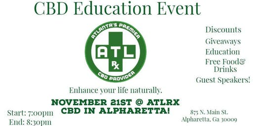 A Night of CBD Education with Atlanta Rx!