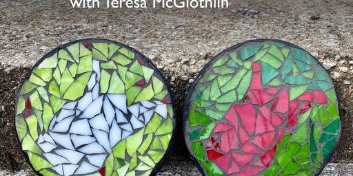 WV Holiday Glass Mosaic Class