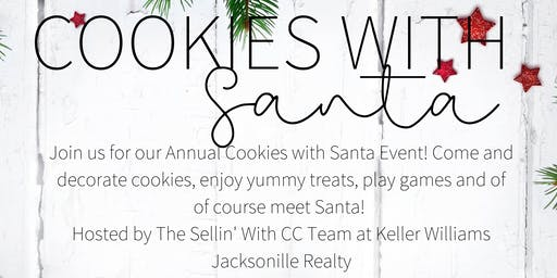 Save the Date!  Cookies With Santa