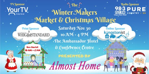 Almost Home Presents The Winter Makers Market & Chrsitmas Village