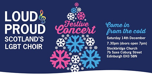 Loud & Proud Choir Festive Concert 2019