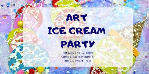 Art Ice Cream Party