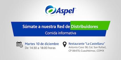 ¿Cómo ser Distribuidor Aspel? boletos