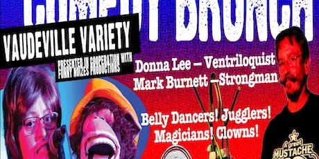 The Vaudeville Variety Show & Brunch tickets