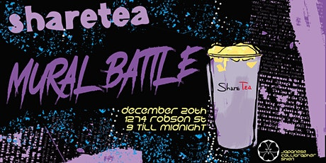 Sharetea B.C, Mural Battle Vol. 1 tickets