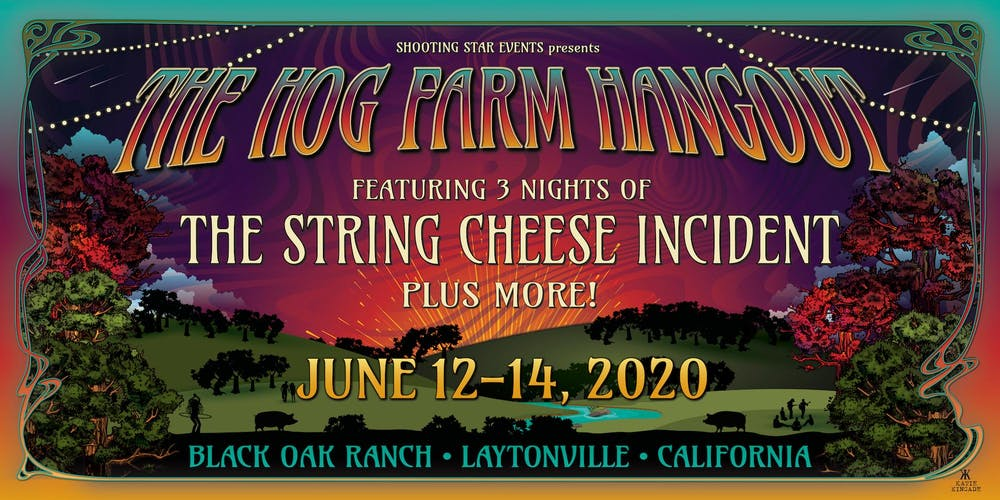 Star Events 2020.The Hog Farm Hangout 2020 Tickets Fri Jun 12 2020 At 7 00