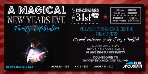 New Years Eve @ Blue Mountain Resort | A Magical Family Celebration